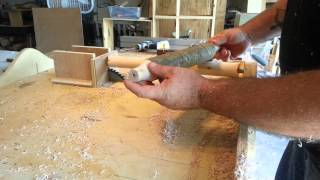 """""""woodturning"""" On A """"table Saw"""""""