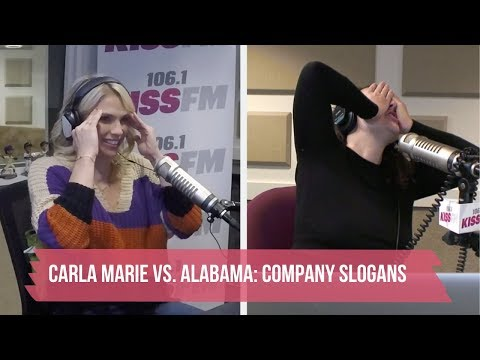 The Carla Marie & Anthony Show - Can You Guess The Company Slogan?