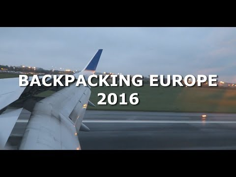 Solo Backpacking Europe 2016 - 12 countries 8 weeks