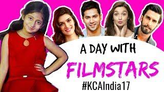 A Day with FILMSTARS ... #KCAIndia17 #Travel #MyMissAnand