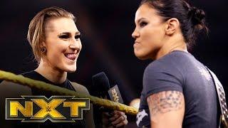 Rhea Ripley confronts Shayna Baszler: WWE NXT, Nov. 27, 2019