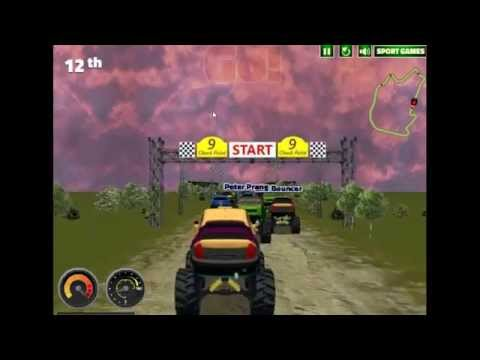 Monster Truck Rally Hacked Turbo