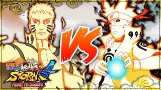 NARUTO SHIPPUDEN: Ultimate Ninja STORM 4 ROAD TO BORUTO   Bijuu Hokage Naruto VS Bijuu Hokage Minato