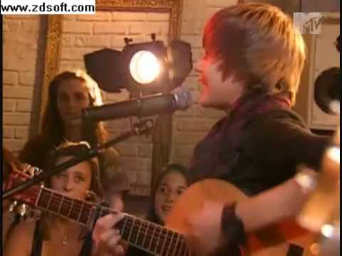 Justin Bieber  Its on With Alexa Chung  One time Acoustic HQ