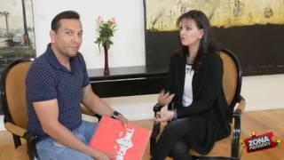 En compañia de Alix Bauer entrevista exclusiva para Zona PreferenTv   (1Era Parte)