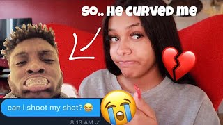 LOL SO I TRIED TO SHOOT MY SHOT @ YourRage... & HE CURVED ME