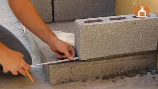 Construccion De Muros de Block Para Asador