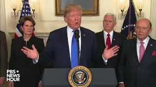 WATCH Trump signs order punishing China on trade