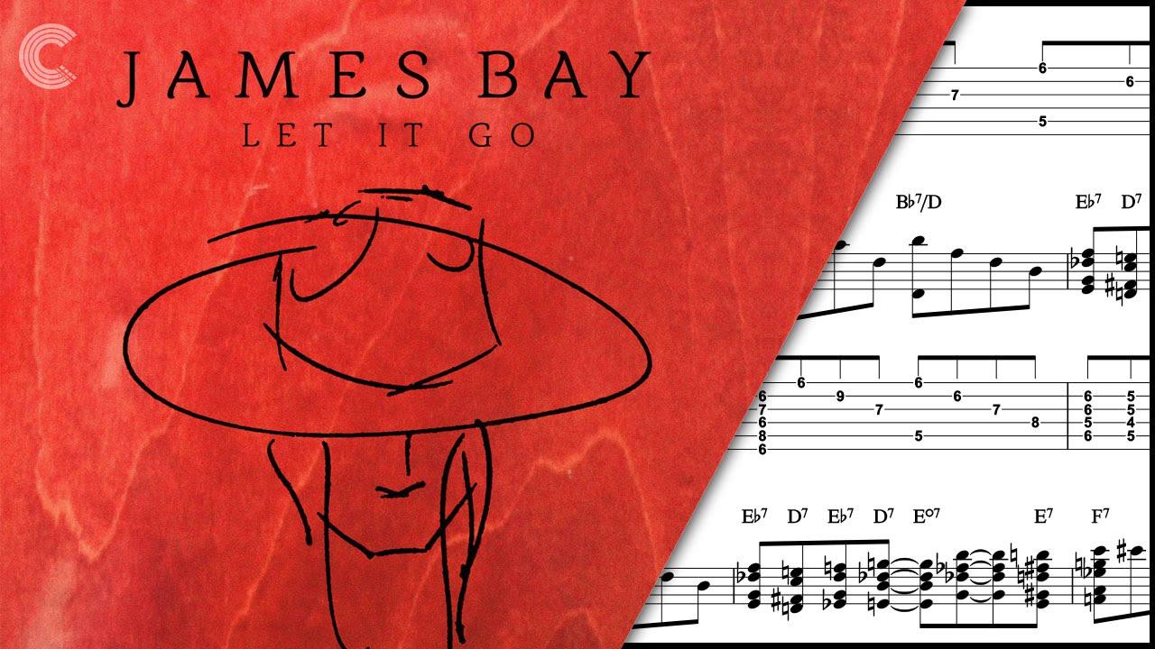 Guitar   Let it Go   James Bay   Sheet Music, Chords, & Vocals