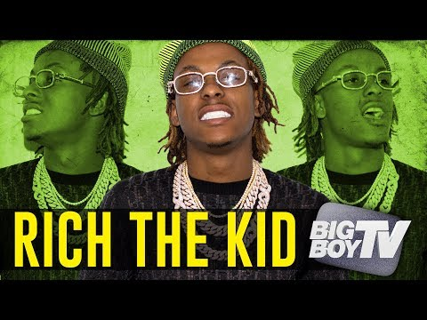 Rich The Kid on Having  of The Year Lil Uzi Vert Britney Spears + More
