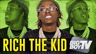 Rich The Kid on Having Album of The Year, Lil Uzi Vert, Britney Spears + More!