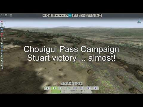 Tank Warfare: Tunisia 1943 - Chouigui Pass - Stuart, almost win! |