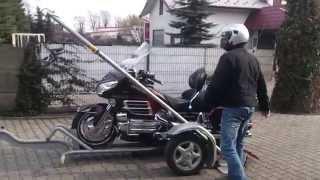 Przyczepka na Motocykl