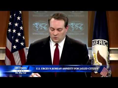 U.S. Urges N. Korean Amnesty For Jailed U.S. Citizen