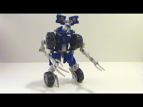 Video Review of Transformers Revenge of the Fallen movie toy; Wheelie