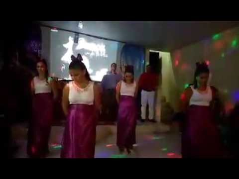 Coreografia Vaso- Ministério Ardendo Em Fogo Grupo Shekinah
