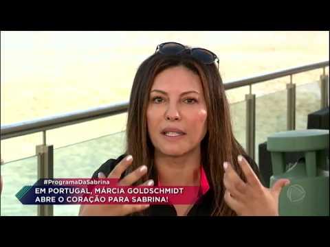 Márcia Goldschmidt se emociona ao lembrar de Marcelo Rezende