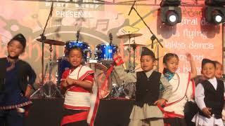 cultural dance performance with shuvam pre school At badegaun lalitpur 2018