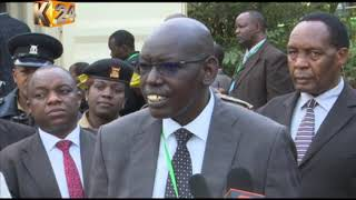 KCSE Day 3: Edu. CS warns Centre managers against breaching exam rules