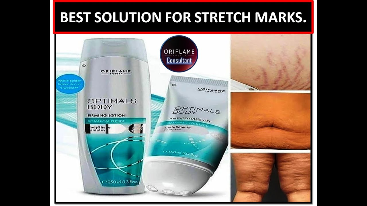 Best Solution For Stretch Marks Optimals Body Firming Lotion