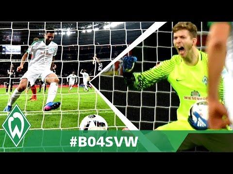 Matchwinner Claudio Pizarro und Felix Wiedwald | Bayer 04 Leverkusen 1:1 Werder Bremen