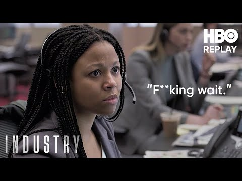 Industry: Harper Bites Her Tongue | HBO Replay