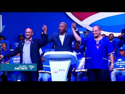 John Moody  re-elected Gauteng DA leader