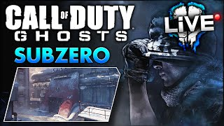 CoD Ghosts SUBZERO Gameplay NEMESIS Map Pack DLC Call Of Duty Ghost Multiplayer Gameplay