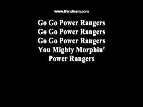 Mighty Morphin Power Rangers Full Song with Lyrics