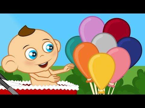 Doğum günü şarkısı Hoş geldin Güzel Bebek | Sevimli Dostlar Çizgi Film Çocuk Şarkıları 2016