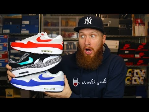 AIR MAX DAY 2017 CAME EARLY!!!! THE HYPE IS REAL!!!!