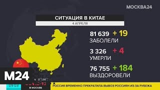 В Китае выздоровели 94% пациентов с коронавирусом - Москва 24