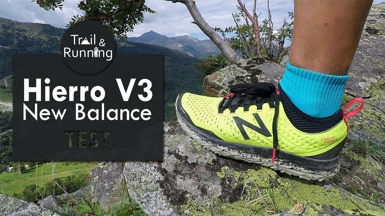 32022c8afef New Balance Hierro V3  test de la chaussure de trail - YouTube