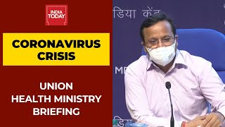 Health Ministry Briefing On Coronavirus Crisis; Around 34 lakh Active Cases With Fatal Rate Of 1.1%