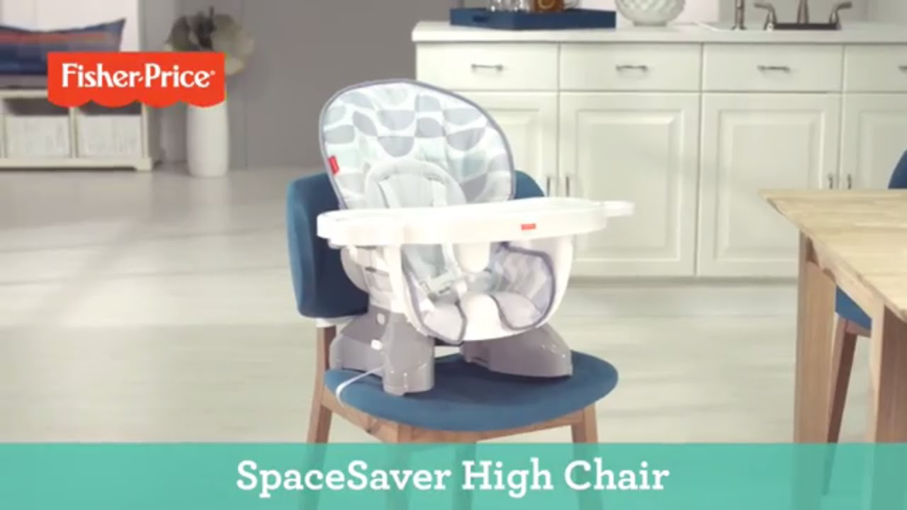 graco space saver high chair x rocker pulse gaming spacesaver fisher price youtube