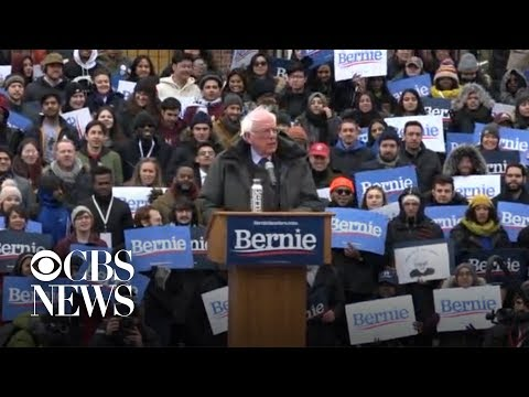 Bernie Sanders holds first 2020 campaign rally in Brooklyn
