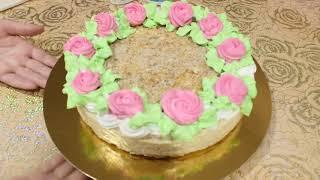 Домашний торт НАПОЛЕОН По старому рецепту