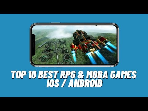 #11 Top 10 Best RPG & MOBA Games 2017 | Android & IOS