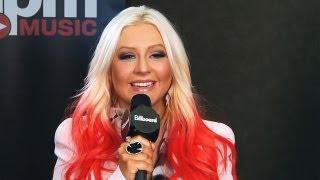 Christina Aguilera Talks 'Voice' Rest, 'Lotus' Tour + Frank Ocean