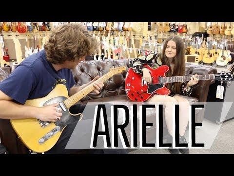 Arielle And Michael Lemmo | 1950 Fender Broadcaster & Gibson ES-335 Reissue At Norman's Rare Guitars