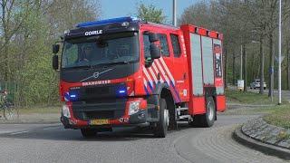 [Grip 1] Hulpdiensten met spoed naar Grote Brand in verzorgingshuis Reyshoeve Gendringenlaan Tilburg