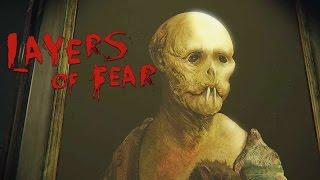 """Фильм ужасов """"Layers of fear"""" прохождение- (2-х серийный ) часть 1"""