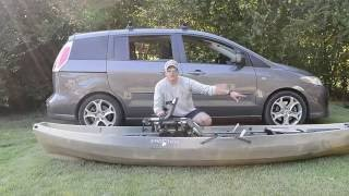 Car topping big/heavy kayaks the easy way