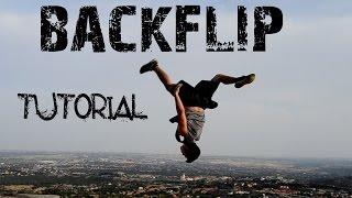cmo hacer un mortal atrs backflip tutorial principiante espaol