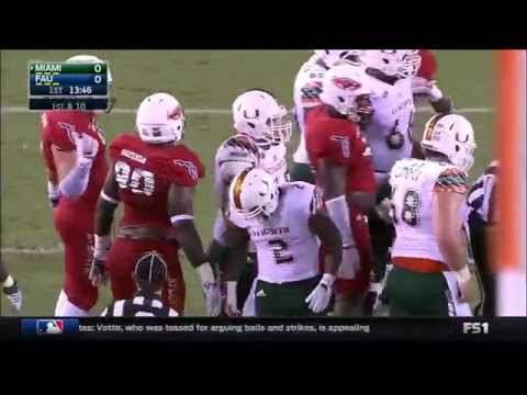 NCAAF - Miami at Florida Atlantic (2015)