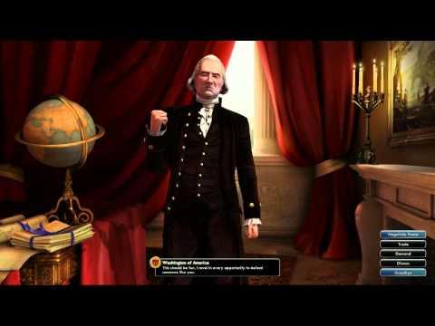 Civilization V OST   Washington War Theme   America The Beautiful