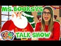Interviewing SANTA! 🎅🎄Ms Booksy's Talk Show❄️🎁Cartoons for Kids | Christmas Cartoons | Cool School
