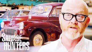 Drew Buys Morris Minor Traveller From A Multi-Millionaire   Salvage Hunters: Classic Cars
