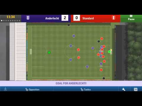 Football Manager Handheld 2015 | Android App | Gameplay | Overview | Test