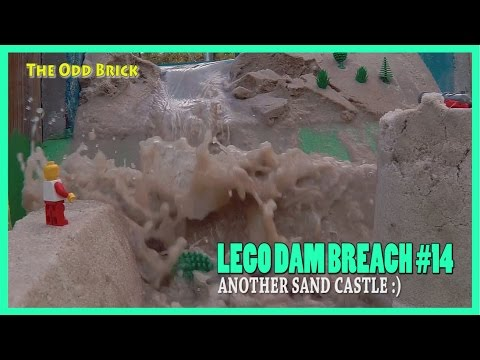 LEGO Dam Breach #14